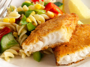 Ocean Catch New Zealand Hoki Boneless And Skinless Fillets | Spiced Hoki with Summer Pasta Salad | Meat Delivery