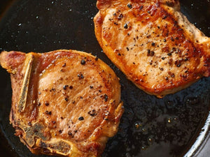 Pork Chops in the OVEN | Spanish Duroc Pork Chops French Cut