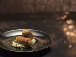 Smoked Cod Croquettes With Sauce Gribiche | US Black Cod Steak | Meat Delivery | Seafood Delivery