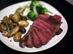 How to prepare Pan-Fried Kobe Beef Top Sirloin?
