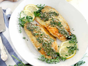 Wild Catch Holland Seabass Fillets Boneless And Skinon | Pan Fried Sea Bass With Lemon Garlic Herb Sauce