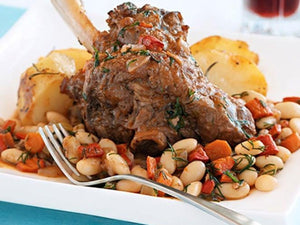 NZ Premium Grassfed Lamb Hind Shanks | Italian-style Instant Pot Lamb Shanks With White Beans | Meat Delivery | Seafood Delivery | Butcher