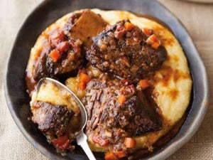 Italian Braised Short Ribs | US Certified (USDA) Premium Black Angus Short Rib Cubes | Meat Delivery | Seafood Delivery | Butcher
