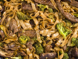 Skinny Beef And Broccoli Noodles