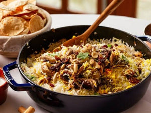 How to prepare Lamb Biryani