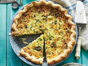 Crab Quiche With Cheese Reciper | Meat Delivery | Seafood Delivery | South Stream Farmers Market
