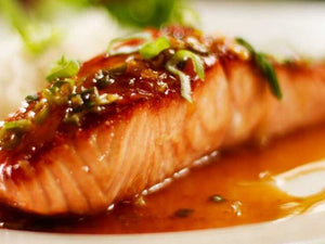 Pan Seared Glazed Salmon with Honey and Soy |  Salmon Fillet | Seafood Hong Kong