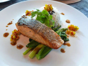 Seared Salmon with a Merry Mango Salsa | Meat Delivery Hong Kong | Seafood Recipes