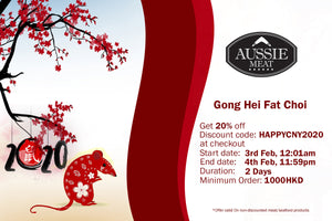 Gong Hei Fat Choi with 20% OFF