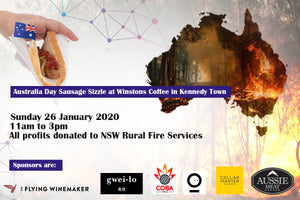 Australia Day Sausage Sizzle by WINSTONS COFFEE at Kennedy Town