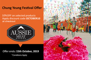 Chung Yeung Festival Offer | Aussie Meat | Meat Delivery HK