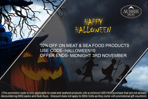 Meat Delivery HK - Aussiemeat -Halloween Sale of 10% Off