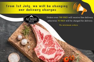 Delivery Charges Updates | Meat Delivery Hk | Best Online Meat Store in Hong Kong