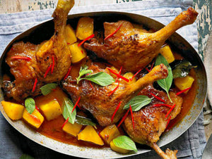 How to Prepare Tender Duck & Red Curry?