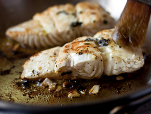 How to prepare Pan-Seared Marinated Halibut Fillets?