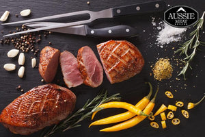 Australian Duck Breasts Skin-On Boneless Fillets (2 Pieces, 360g) | Meat and Seafood Delivery