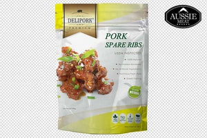 US Pork Spare Ribs and Hormone Free (400g)