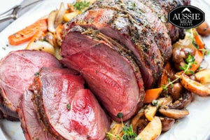 Australian Lamb | New Zealand Premium Grassfed Boneless Lamb Leg Roast (~1.5kg) | Meat and Seafood Delivery