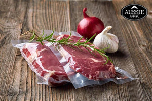 Australian Black Angus Grain-Fed Striploin (Sirloin, MS 2+, 400g) Steaks | Meat and Seafood Delivery HK