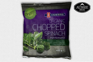 Belgium Organic Chopped Spinach (400g) | Meat Delivery