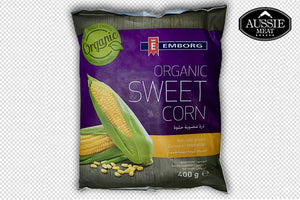Belgium Organic Sweet Corn (400g) | Meat and Seafood Delivery