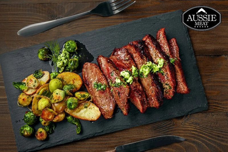 Australian Black Angus Bavette (Flank, MS 2+, 400g) Steak | Meat Delivery HK | Seafood Delivery HK