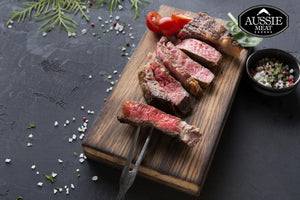Aussie Meat | US Certified (USDA) Premium Prime Angus Ribeye Steak (Scotch Fillet, 10oz/283g)| Meat and Seafood Delivery