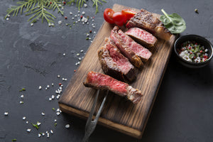 Australian Premium Black Angus Ribeye Steaks (Scotch Fillet, MS 2+, 400g, ~2.5cm) | Buy 9 & Get 1 FREE