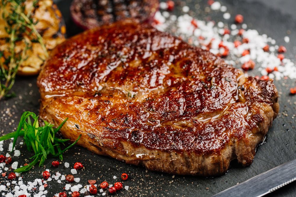 Australian Black Angus Beef Grain-Fed Premium Ribeye Steak (Scotch Fillet, MS 2+) | Meat Delivery | Meat and Seafood Delivery