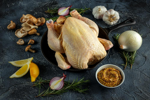 Spanish Hormone Free Spring Whole Chicken | Meat Delivery Hong Kong
