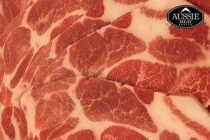 Hot Pot | Spanish Duroc Pork Collar Slices (1lb, ~454g) | Seafood Delivery Hong Kong