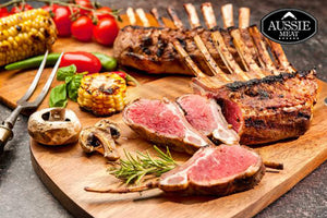 Premium Grassfed Lamb Rack Hong Kong | New Zealand Premium Grassfed Lamb Rack Cap off Frenched | Meat Delivery