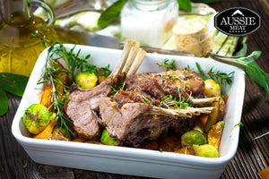 Premium Lamb Rack Hong Kong - New Zealand Premium Lamb Rack Cap off Frenched, 350g - CHILLED Aussie Meat Delivery
