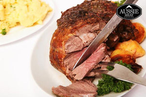 Aussie Meat Lamb | New Zealand Premium Grassfed Lamb Shoulder, Roast Tied Boneless (~1.45Kg) | Meat and Seafood Delivery Hong Kong