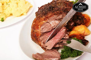 Aussie Meat Lamb | New Zealand Premium Boneless Lamb Leg Roast (~1.5kg) | Meat and Seafood Delivery