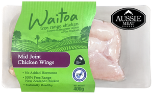 NZ Free Range Chicken Mid-Wings | Meat Delivery | Seafood Delivery | South Stream Farmers Market
