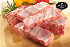 Danish Pork Baby Back Ribs (1kg, 10/12 Ribs) - Aussie Meat Pork Baby Back Ribs | Meat and Seafood Delivery HK | Farmers market fresh