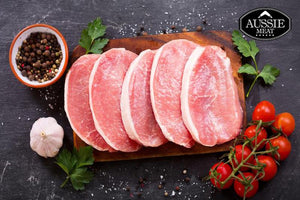 Free Range Pork Loin Steaks | Meat Delivery | Seafood Delivery | Farmers Market