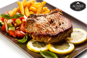 Spanish Duroc Pork Chops French Cut (2 Pieces, ~462g) | Meat and Seafood Delivery HK