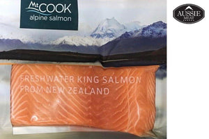 Fresh Water Wild-Catch New Zealand King Salmon Skin-On Fillet (150g) | Seafood Delivery Hong Kong