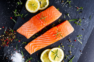 Canadian Ocean-Catch Boneless Skin-On Sockeye Salmon Fillet, Sashimi Grade (360g, 4 pieces) - Chilled Seafood Delivery Hong Kong