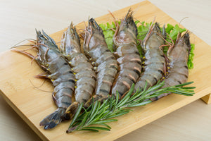 Ocean Catch Premium Australian Tiger Prawns (6-8 Prawns per ~1lb, 454g) | Meat and Seafood Delivery