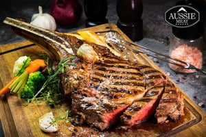 US Certified (USDA) Premium Black Angus Tomahawk Steak (~1.8kg) | Meat and Seafood Delivery HK