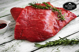 Australian Black Angus Bavette (Flank, MS 2+, 400g) Steak | Meat Delivery HK | Farmers Market HK