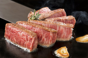 Australian Wagyu Striploin Steaks (Sirloin, MS 5) | Meat and Seafood Delivery