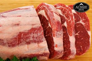 NZ Premium Grass-Fed Ribeye Roast (Scotch Fillet, 2kg) | Buy Bulk 5% OFF | Meat Delivery
