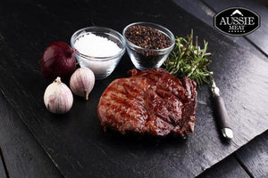 Australian Black Angus Beef Grain-Fed Premium Ribeye (Scotch Fillet, MS 2+, 400g) Steak | Meat and Seafood Delivery