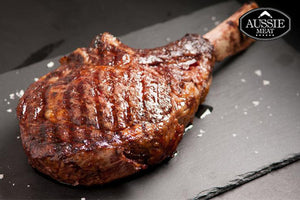 Australian Black Angus Grain-Fed Premium OP Rib (Bone-In Ribeye, MS 2+, ~1.2kg) Steak | Meat and Seafood Delivery HK