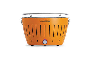Aussie Meat BBQ - Lotus Grill Starter Kit (Orange colour) Smoke Free BBQ Grill