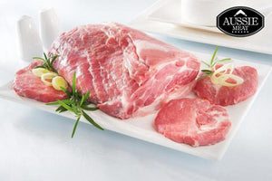 Aussie Pork | Danish Free Range Pork Collar/Shoulder Rindless Roast (~2kg) | Meat and Seafood Delivery